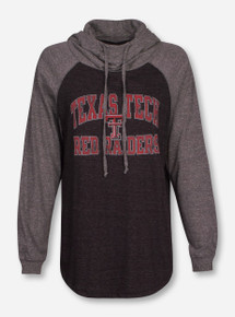 "Blue 84 Texas Tech Red Raiders ""Orthodox"" Triblend Raglan Pullover Hoodie"