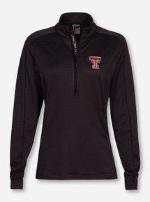 "Levelwear Texas Tech Red Raiders Insignia Strong ""Pacer"" 1/4 Zip Pullover"