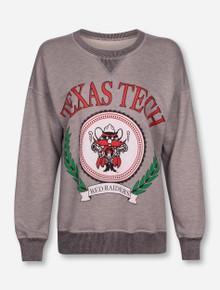 Spirit Jersey Texas Tech Red Raiders Reversible Mascot Seal Sweatshirt