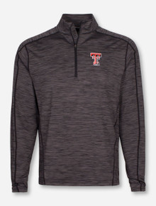 "Levelwear Texas Tech Red Raiders Insignia Strong ""Armour"" 1/4 Zip Pullover"
