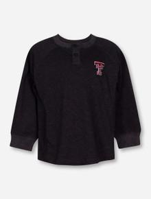 "Texas Tech Red Raiders Garb ""Hunter"" TODDLER Long Sleeve Henley Tee"