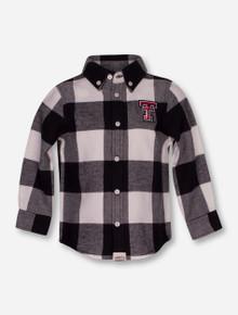 "Texas Tech Red Raiders Garb ""Nicholas"" INFANT Flannel Button Up Shirt"