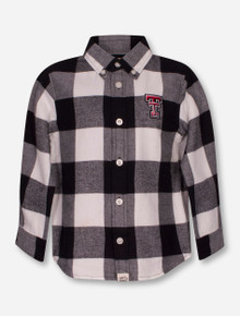 "Texas Tech Red Raiders Garb ""Nicholas"" TODDLER Flannel Button Up Shirt"