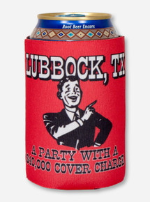 Relive the Party Red Koozie - Texas Tech