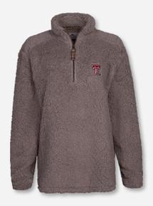 "Summit Texas Tech Red Raiders ""Sherpa"" 1/4 Zip Jacket"