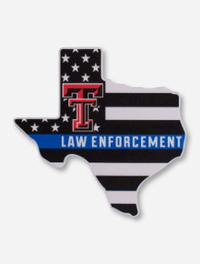 Texas Tech Law Enforcement Decal