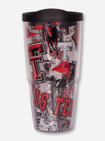 "Tervis Texas Tech Red Raiders ""All Over Vault"" 24oz Travel Tumbler"