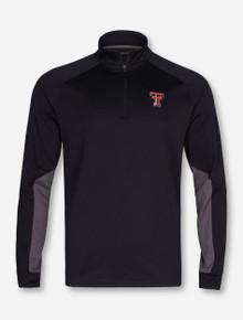 "Under Armour Texas Tech Red Raiders ""CGI Grid Fleece"" 1/4 Zip Pullover"