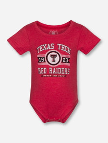 """Wes & Willy Texas Tech Red Raiders """"Cherry Blend"""" INFANT Onesie"""
