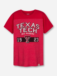 "Wes & Willy Texas Tech Red Raiders ""Yoke"" YOUTH T-Shirt"