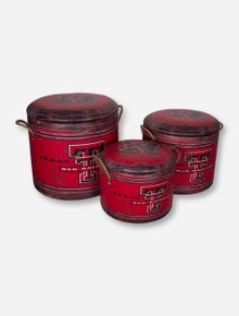 Texas Tech Red Raiders Nesting Storage Containers