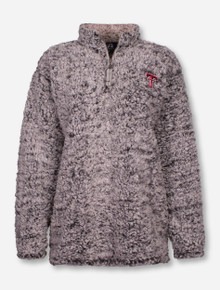 "Texas Tech Red Raiders ""Peppered Poodle"" Quarter Zip Pullover"