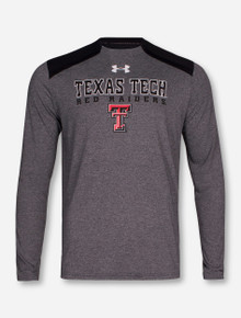 Under Armour Texas Tech Red Raiders Threadborn BASE Long Sleeve Shirt