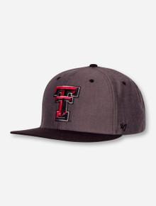 47 Brand Texas Tech Red Raiders Double Move Flatbill Snapback Cap