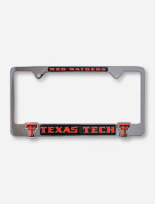 Texas Tech Red Raiders Double T License Plate Frame