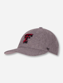 47 Brand Texas Tech Red Raiders Wool Nimbus Adjustable Cap