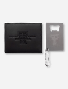 Texas Tech Red Raiders Wallet and Credit Card Keychain Set