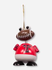 Texas Tech Red Raiders Football Man Ornament
