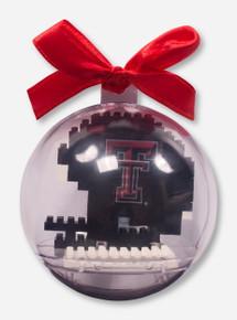 Texas Tech Red Raiders Acrylic Ball Helmet Ornament