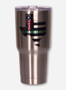 Texas Tech Red Raiders Armed Forces 30oz Tumbler