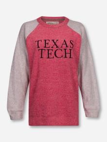 Pressbox Texas Tech Red Raiders Alumni Two Toned Comfy Terry Sweatshirt