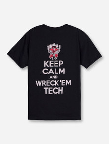 Texas Tech Red Raiders Keep Calm and Wreck 'Em Tech YOUTH T-Shirt