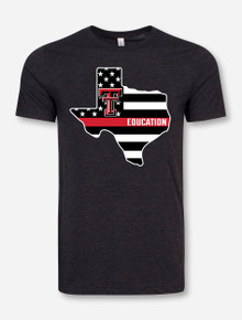 Texas Tech Red Raiders Education Pride T-Shirt