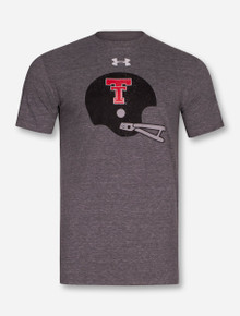 "Under Armour Texas Tech Red Raiders ""Triblend Helmet"" T-Shirt"