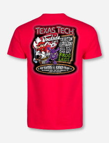 Texas Tech Red Raiders vs TCU Red-Out Gameday T-Shirt