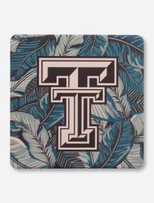 Texas Tech Red Raiders Palm Leaves Coaster