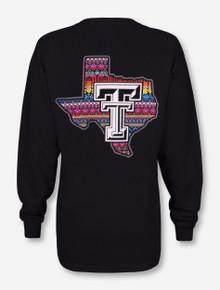 Texas Tech Red Raiders Native Blanket Lone Star Pride Long Sleeve Shirt