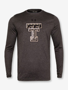 Under Armour Texas Tech Red Raiders Camo Double T Long Sleeve Shirt