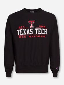 Texas Tech Red Raiders Textbook Crew Sweatshirt