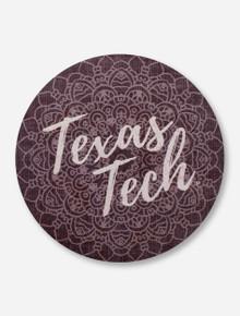 Texas Tech Red Raiders Mandala Circle Wall Art