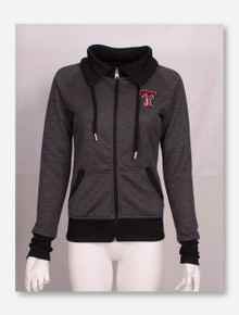 Arena Texas Tech Red Raiders Full Zip High-Collar Jacket