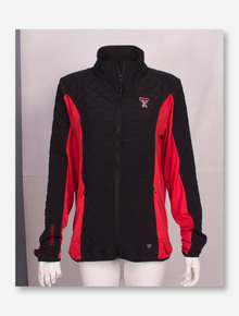 Arena Texas Tech Red Raiders Full Zip Quilted Lightweight Jacket
