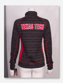 Arena Texas Tech Red Raiders Tire Tread Quarter Zip