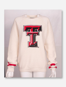 GG Brand Texas Tech Red Raiders Large Double T Sweater
