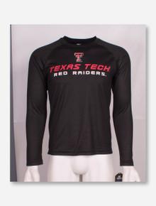 Arena Texas Tech Red Raiders Tonal Zig Zag Long Sleeve