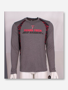 Arena Texas Tech Red Raiders Digital Inset Long Sleeve