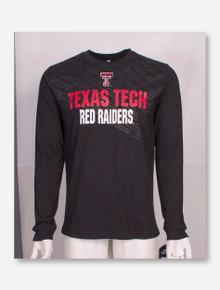 Arena Texas Tech Red Raiders Tonal Diagonal Fade Long Sleeve