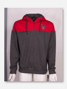 Arena Texas Tech Red Raiders Interlaced Quarter Zip Hoodie