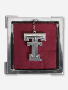 Texas Tech Double T Metal Napkin Holder