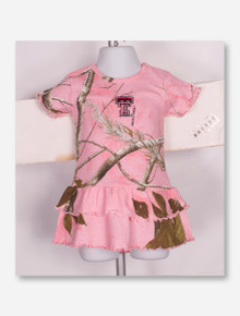 Creative Knitwear Texas Tech Red Raiders INFANT Pink Camo Dress