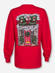 Texas Tech Red Raiders Wreck the Halls Long Sleeve Shirt