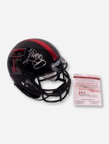 Schutt Mini Helmet Signed by Kliff Kingsbury