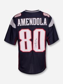 Danny Amendola Patriots Signed #80 Blue Jersey