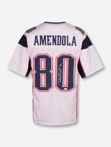 Danny Amendola Patriots Signed #80 White Jersey