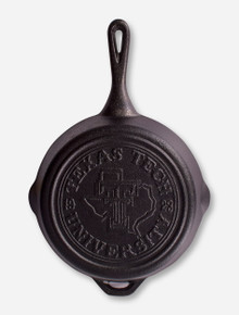 Texas Tech Red Raiders Lone Star Pride Cast Iron Skillet