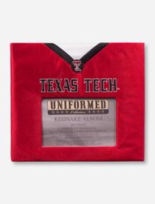 Texas Tech Red Raiders Football Jersey Keepsake Album